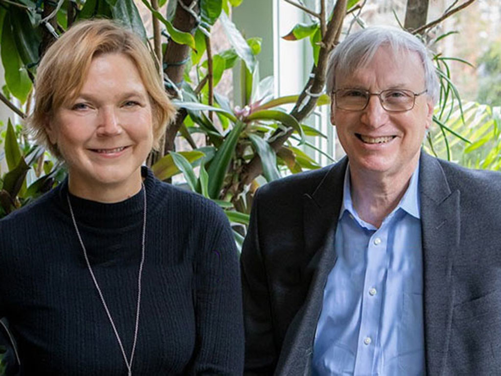 Linda Griffith (left) and Douglas Lauffenburger are recognized by the NAE for their innovative contributions to biological engineering education.