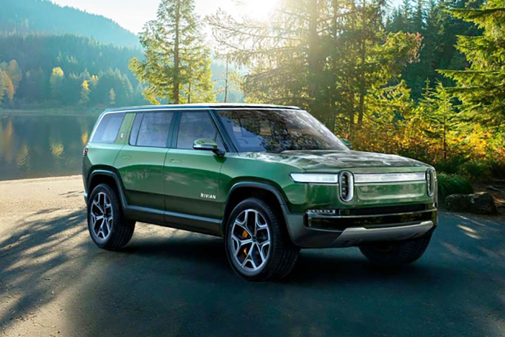 the Rivian's R1S vehicle