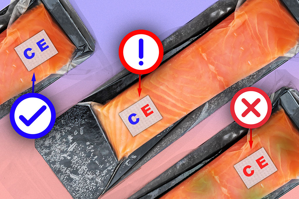 MIT researchers use the new velcro research to detect whether the salmon fillets are spoiled