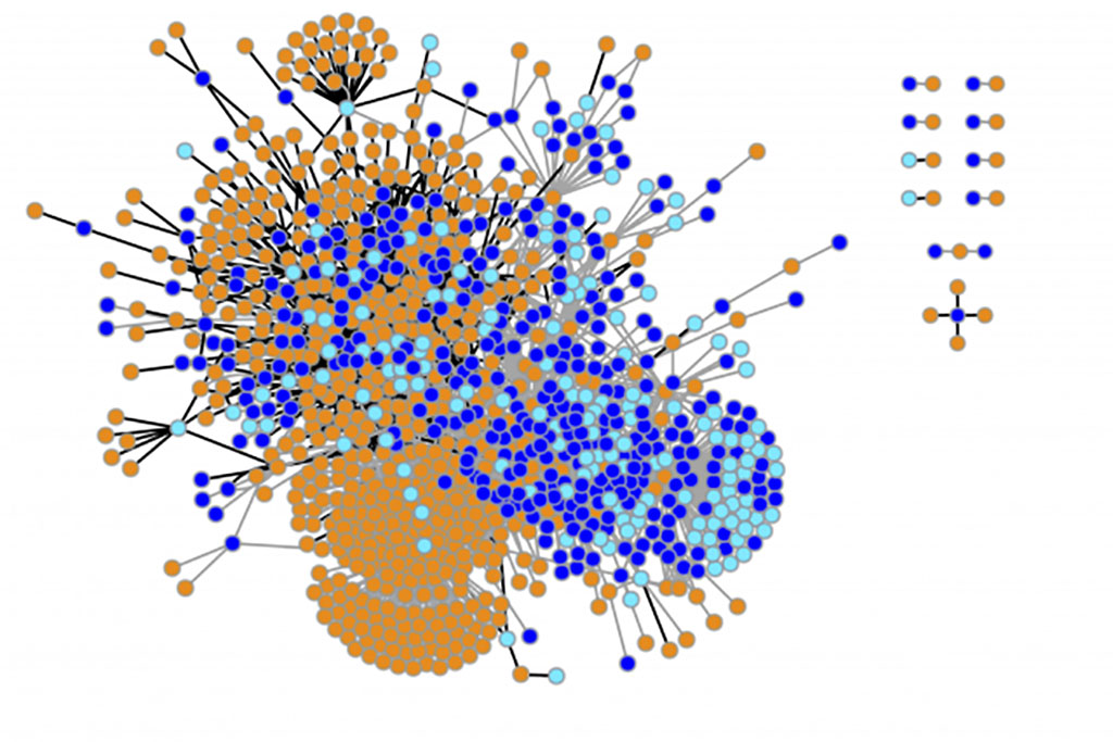 visualization of the researchers' results