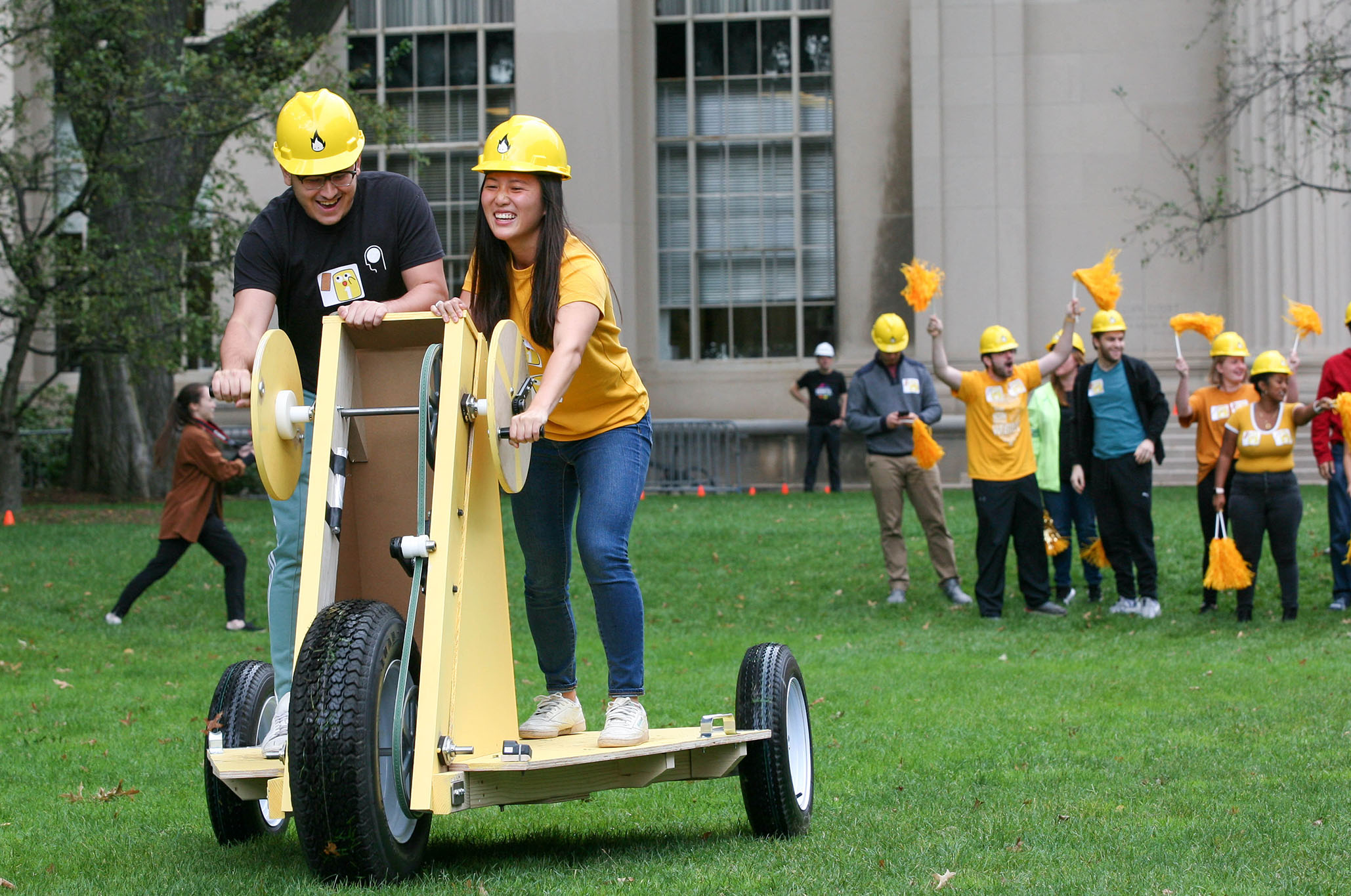 Students compete in the 2019 Build Challenge
