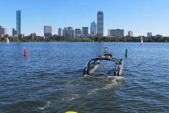 Team of MechE and CSAIL Students Wins Grand Prize in Maritime RobotX Challenge