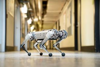 Mini cheetah is the first four-legged robot to do a backflip