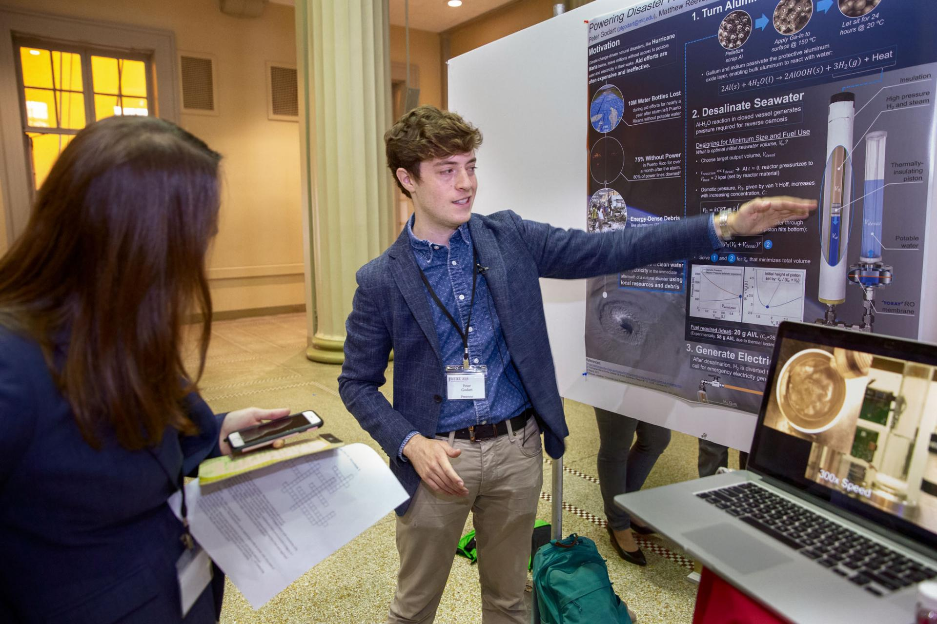 The 5th annual  Mechanical Engineering Research Exhibition, hosted by the Graduate Association of Mechanical Engineers (GAME), showcases and celebrates the research within MechE.