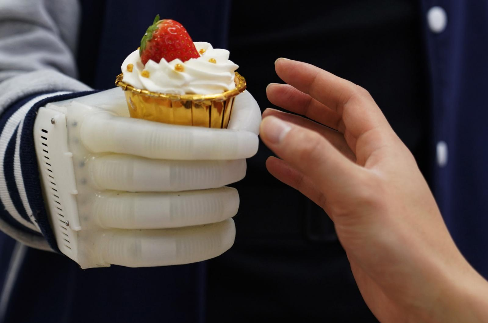 Inflatable Robotic Hand