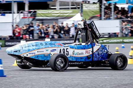 MIT-Delft University of Technology team places third in Formula Student Germany driverless competition