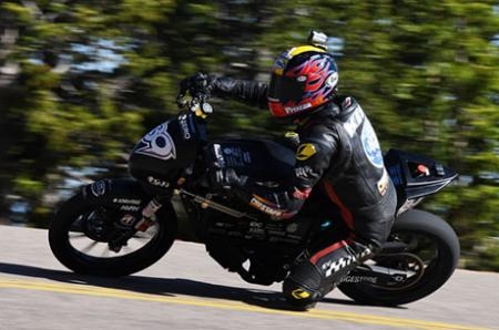 Team Led by MechE Engineers Places Second at Pikes Peak International Hill Climb