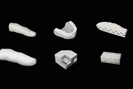 A 3-D printer powered by machine vision and artificial intelligence