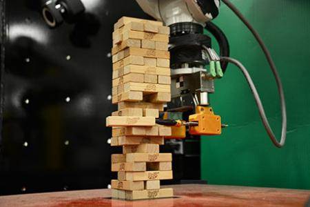 MIT robot combines vision and touch to learn the game of Jenga