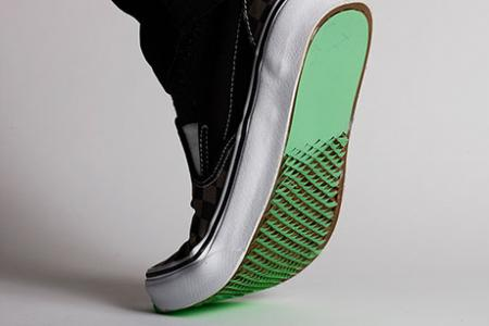 Coatings for shoe bottoms could improve traction on slick surfaces