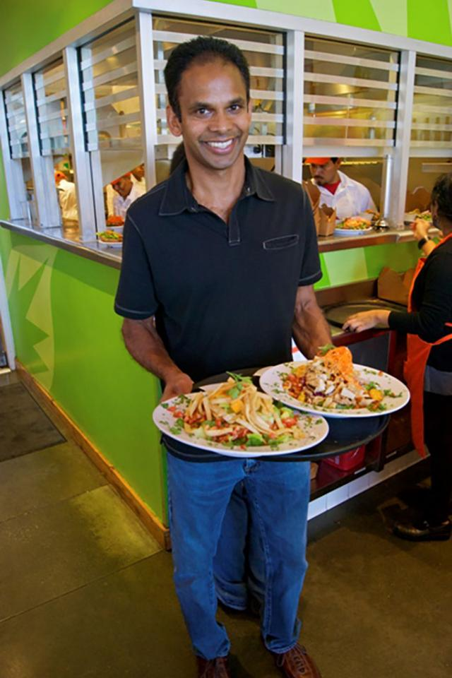 How alum T.K Pillan created the largest vegan and vegetarian restaurant company in the U.S.