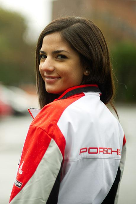 Senior Yamile Pariente lands a dream internship abroad at Porsche.