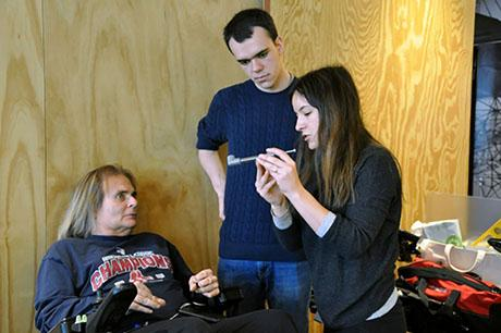 Students develop tech for people with disabilities at annual Assistive Technologies Hackathon