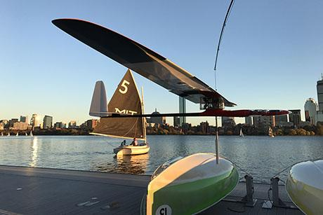 MIT engineers have designed an autonomous robotic glider that can skim along the water's surface