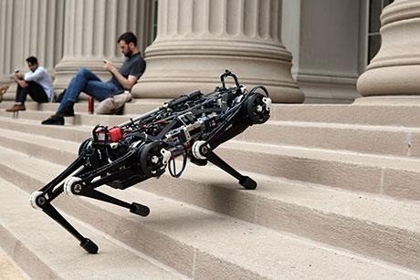 """Blind"" Cheetah 3 robot can now leap, gallop, and climb without relying on cameras or any external environmental sensors"