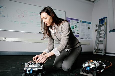 Domitilla Del Vecchio conducts pioneering work at the intersection of biological, mechanical, and electrical engineering.