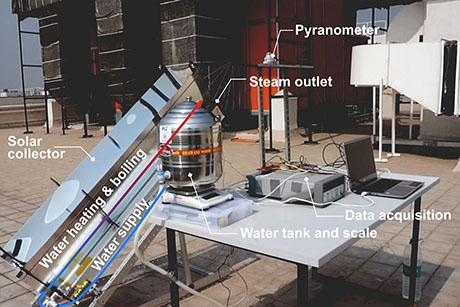 System can sterilize medical tools using solar heat