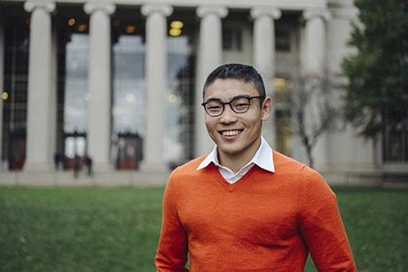 Senior and Rhodes Scholar Matthew Chun wants to promote innovation that enhances quality of life in developing countries