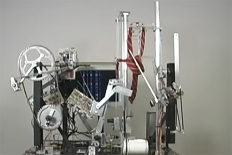 MechE Seth Goldstein alum puts hundreds of parts to use in kinetic sculptures