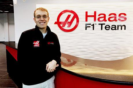 At Haas F1, Alum Thomas Ober works on a small passionate team, a lot like a research group.