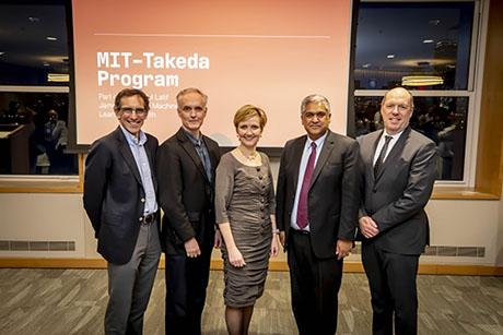 MIT-Takeda program will harness the power of AI to positively impact human health