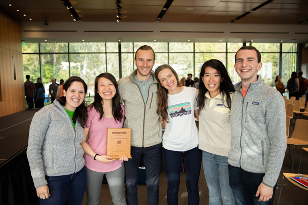 Group photo of winners