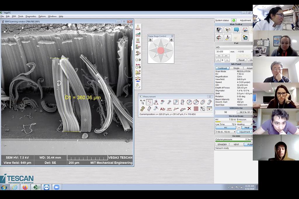 screen shot of zoom virtual class