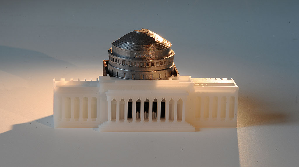 3D printed MIT dome