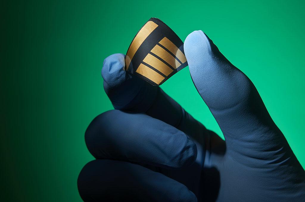 photo of  a Perovshite solar cell