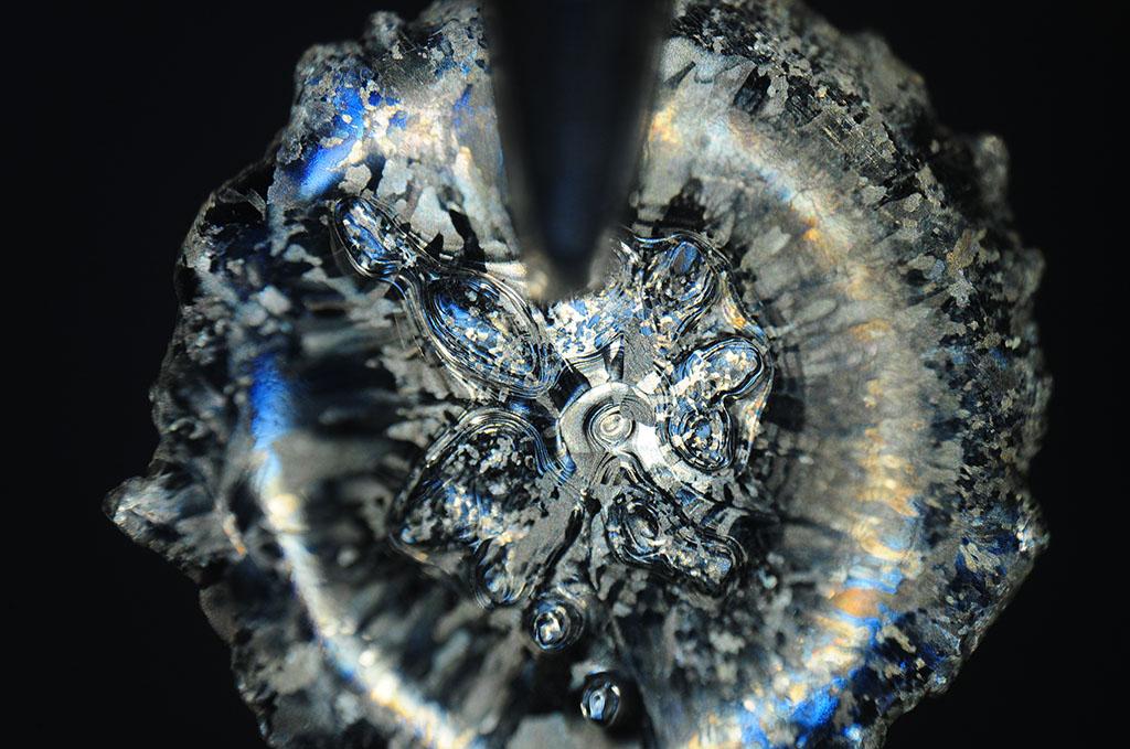 fozen droplet