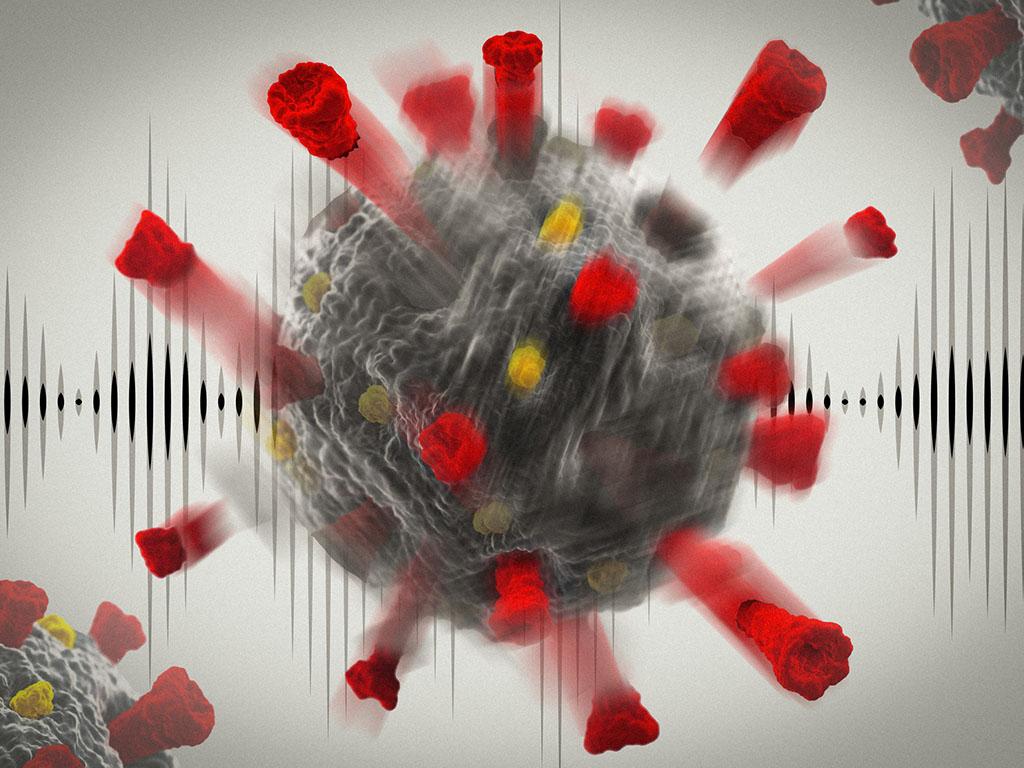 Illustration of Corona Virus