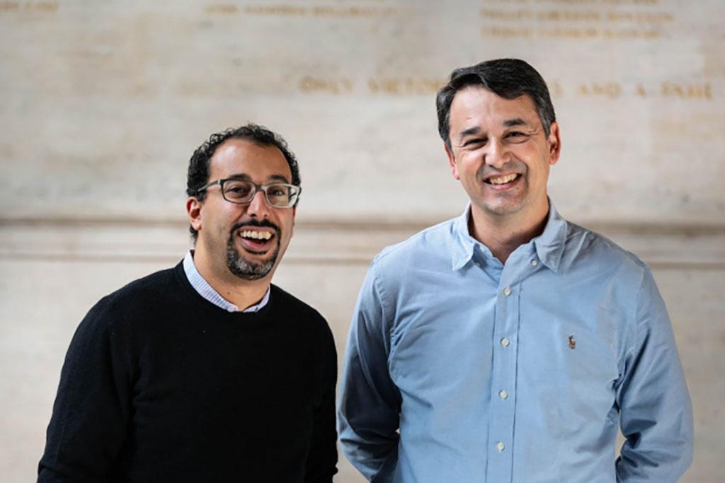 Youssef Marzouk (left) and Nicolas Hadjiconstantinou