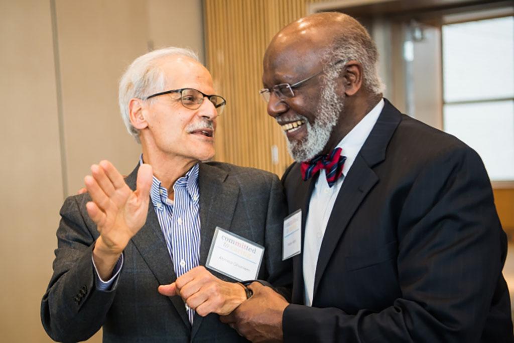 Ahmed Ghoniem (left) and Wesley Harris
