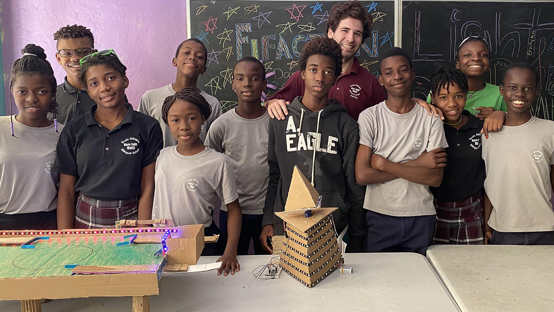 MIT student teaches toy design at orphanage in Haiti