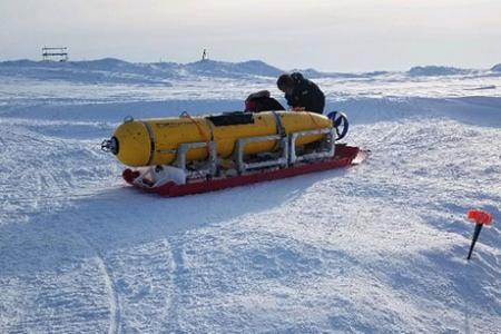 Navigating beneath the Arctic ice