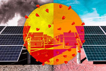 Covid-19 shutdown led to increased solar power output