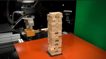 MIT Robot Learns How to Play Jenga