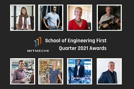 School of Engineering first quarter 2021 awards
