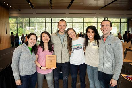Graduate students win first place in 2019 Patagonia Case Competition