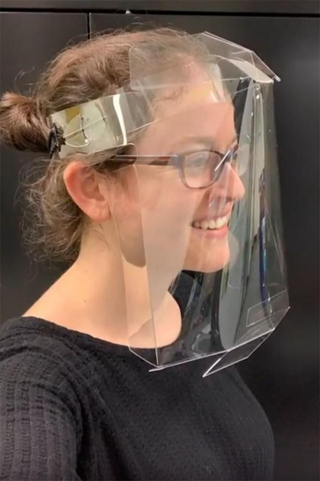 MIT initiates mass manufacture of disposable face shields for Covid-19 response