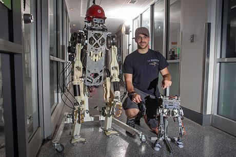 A new control system may enable humanoid robots to do heavy lifting and other physically demanding tasks.
