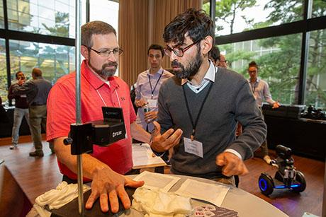 Students present mechanical engineering projects that have global impact