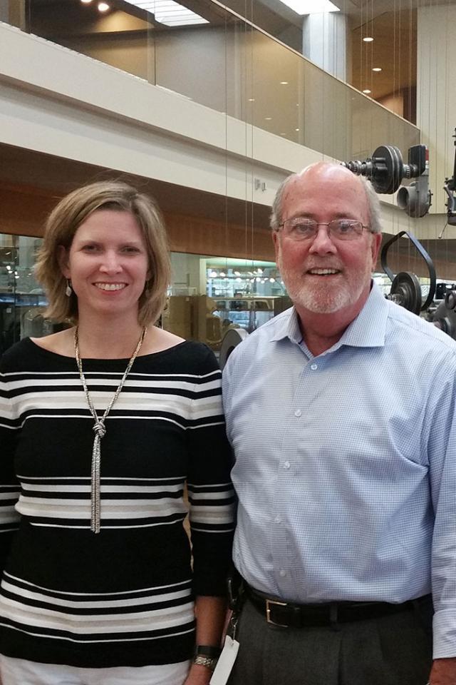 Jennifer Rumsey and John Wall